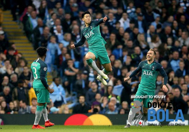 City Kalah Gol Tandang | Man City vs Tottenham Hotspur